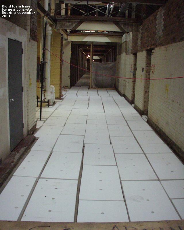 200111 rigid foam base for new concrete flooring for Concrete foam construction